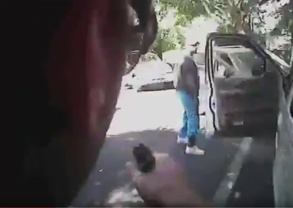 Charlotte police release video of black man's fatal shooting