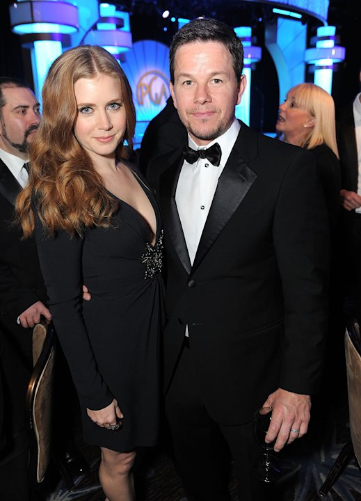 22nd Annual Producer's Guild Awards 2011 Amy Adams Mark Wahlberg