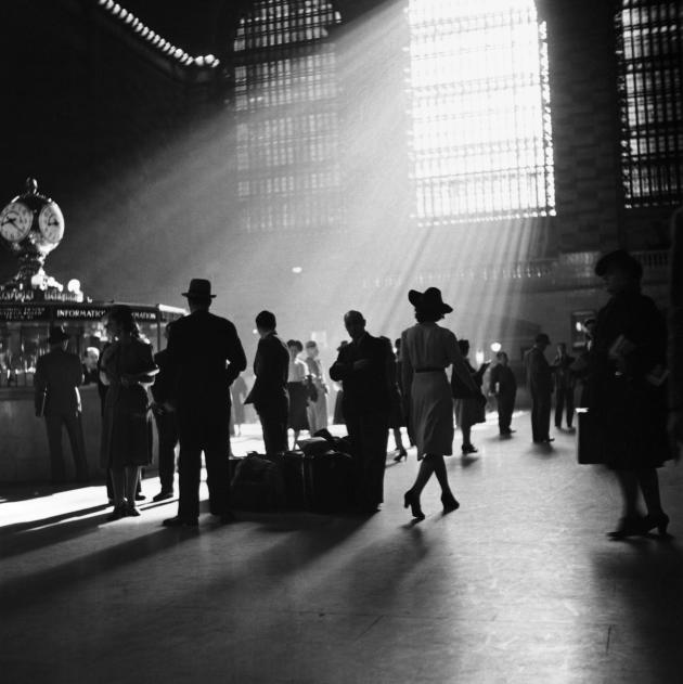Commuters walk through New York's Grand Central Station in this undated handout photo
