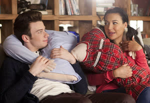 Chris Colfer, Naya Rivera | Photo Credits: Adam Rose/Fox