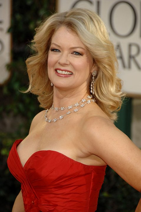 Mary Hart arrives at the 66th Annual Golden Globe Awards held at the Beverly Hilton Hotel on January 11, 2009 in Beverly Hills, California.