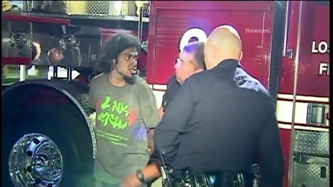 Suspect Arrested After Being Trapped In Chimney