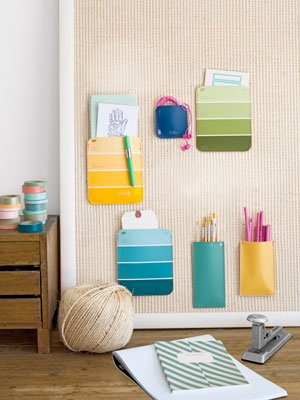Paint Swatch Organizers