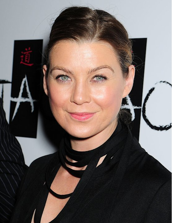 Ellen Pompeo arrives at TAO Las Vegas 3 Year Anniversary Celebration inside The Venetian Hotel and Casino on November 08, 2008 in Las Vegas, Nevada. 