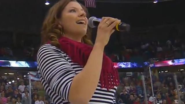 Canadian jazz singer botches U.S. national anthem