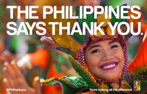 "The Philippines Says ""Thank You"" to the World"