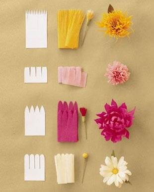 These paper flowers are just as pretty as the real thing!