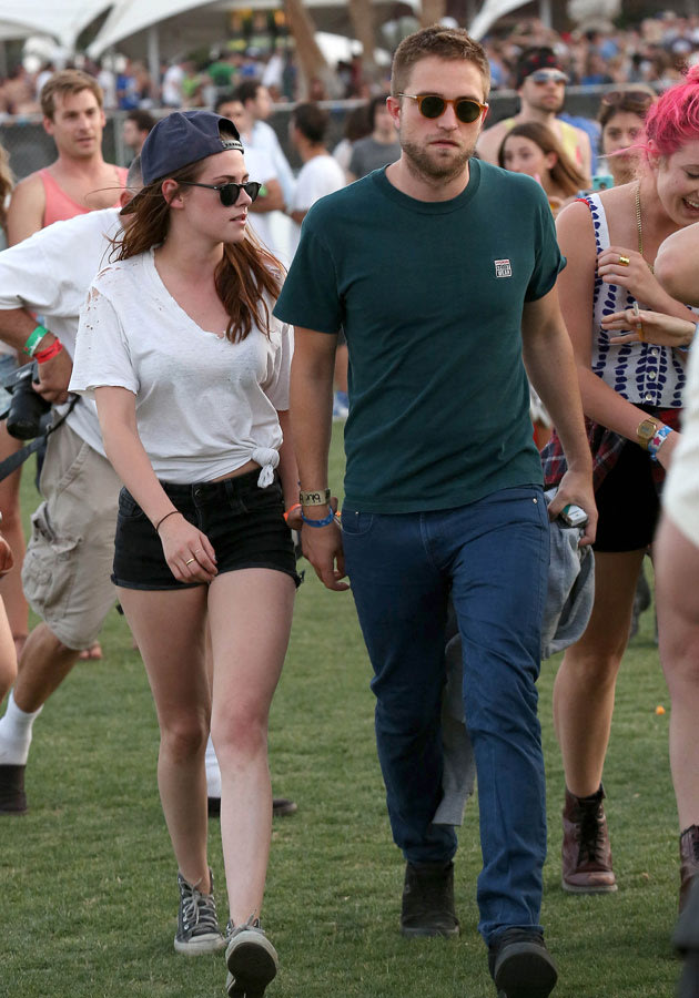 RPatz and KStew are at Coachella the lucky pair. Copyright: [Splash]