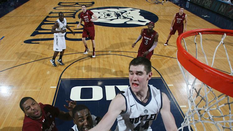 NCAA Basketball: Temple at Butler