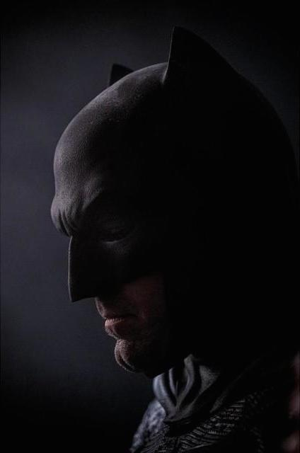 Batman is still sad in the second Ben Afflek photo from 'Batman v. Superman'