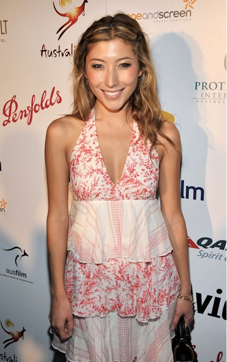 Dichen Lachman arrives at Australians In Film's 2009 Breakthrough Awards at The Roosevelt Hotel on May 8, 2009 in Hollywood, California.