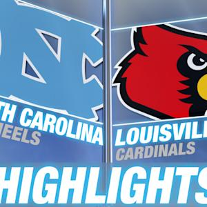 North Carolina vs Louisville | 2014-15 ACC Men's Basketball Highlights