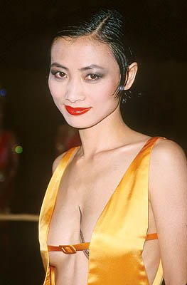 Bai Ling at the Hollywood premiere of 20th Century Fox's Anna And The King
