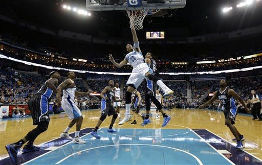 Afflalo leads Magic past Hornets 105-102