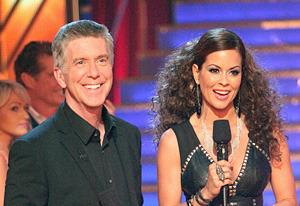 Tom Bergeron and Brooke Burke | Photo Credits: Adam Taylor/ABC