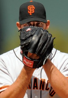 Madison Bumgarner broke in with the Giants in 2009 and has a 21-20 record as a major leaguer. (AP)