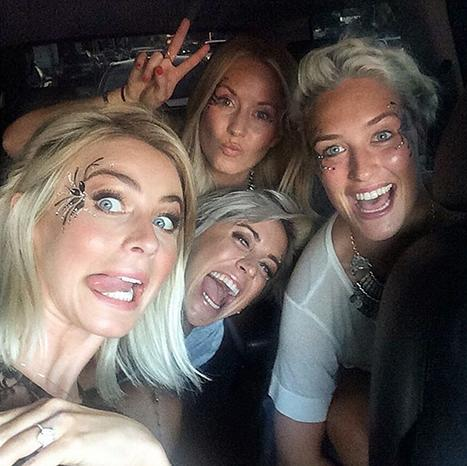 Julianne Hough Flashes Her Massive Engagement Ring at Girls' Night: Picture