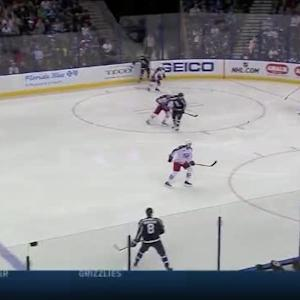 Curtis McElhinney Save on Cedric Paquette (01:38/1st)