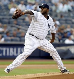 Sabathia comes off DL, pitches Yanks past Jays 6-1