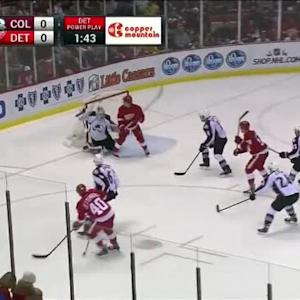 Calvin Pickard Save on Henrik Zetterberg (04:30/3rd)