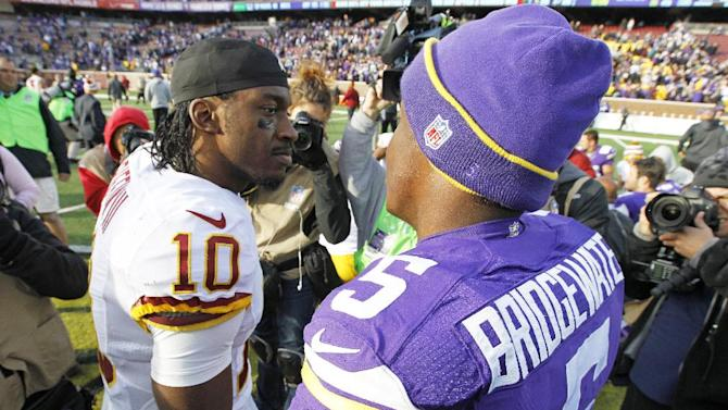 Griffin's return marred in 29-26 loss to Vikings