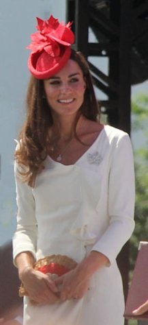 Kate Middleton is pregnant with her first child.