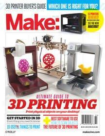 Make: Ultimate Guide to 3D Printing Timed for Holiday Shopping