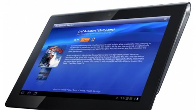 Sony Tablet S gets the PlayStation Store
