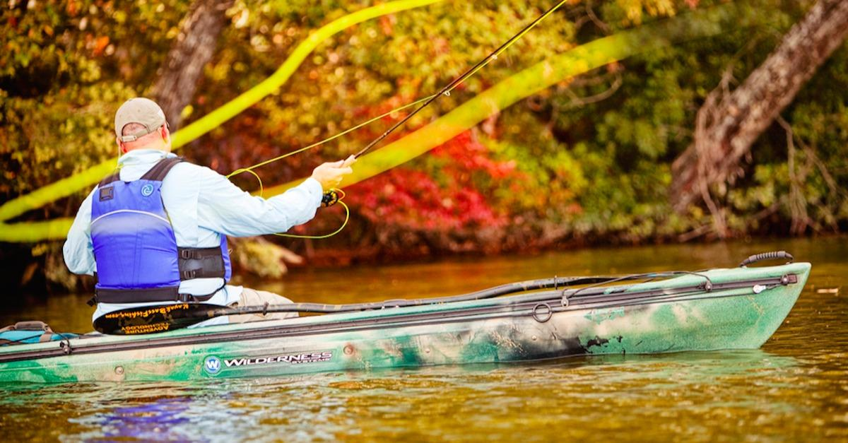 Why You Should Fish From A Kayak