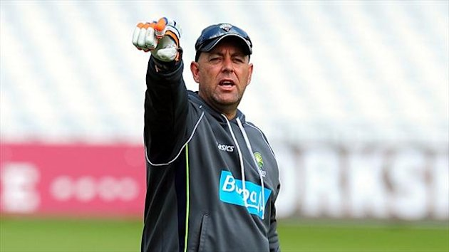 Darren Lehmann has urged Australia's batsmen to step up to the plate