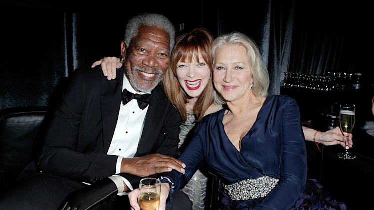 Morgan Freeman, Frances Fisher, Helen Mirren