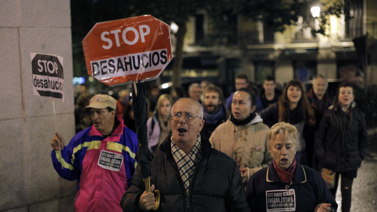 Spain's PM seeks end to mortgage arrears evictions