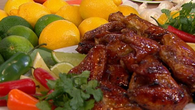 Super Bowl Recipes: Hung Huynh, Sharon Osbourne Cook Spicy Wings