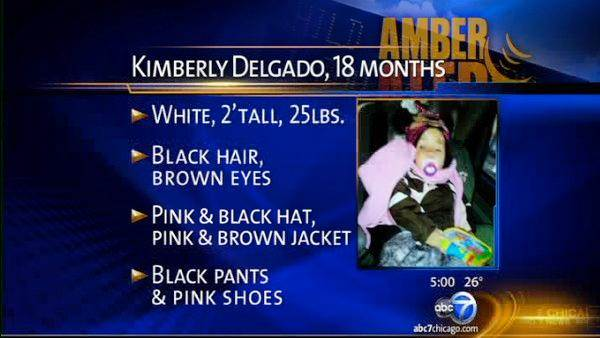 AMBER Alert canceled; toddler taken from Bensenville found safe