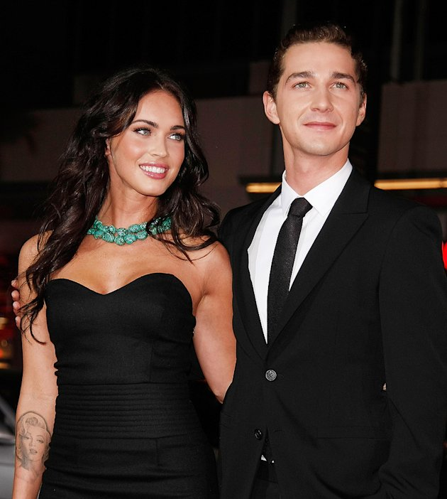 Eagle Eye LA Premiere 2008 Megan Fox Shia LaBeouf
