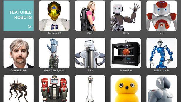 IEEE's Robot iPad App is Robot Heaven