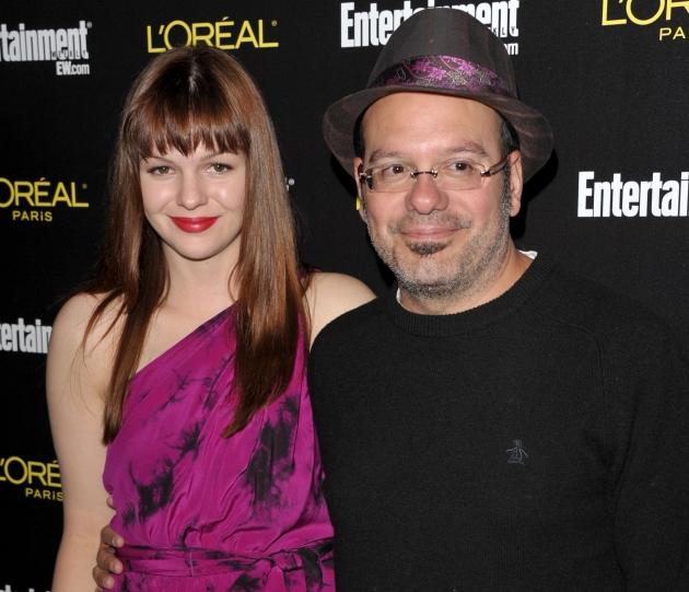 Amber Tamblyn and David Cross arrive at Entertainment Weekly's celebration honoring the 17th Annual Screen Actors Guild Awards nominees at Chateau Marmont on January 29, 2011 in Los Angeles -- WireImage