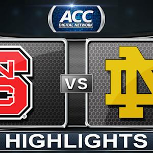 NC State vs Notre Dame | 2014 ACC Women's Basketball Tournament Highlights