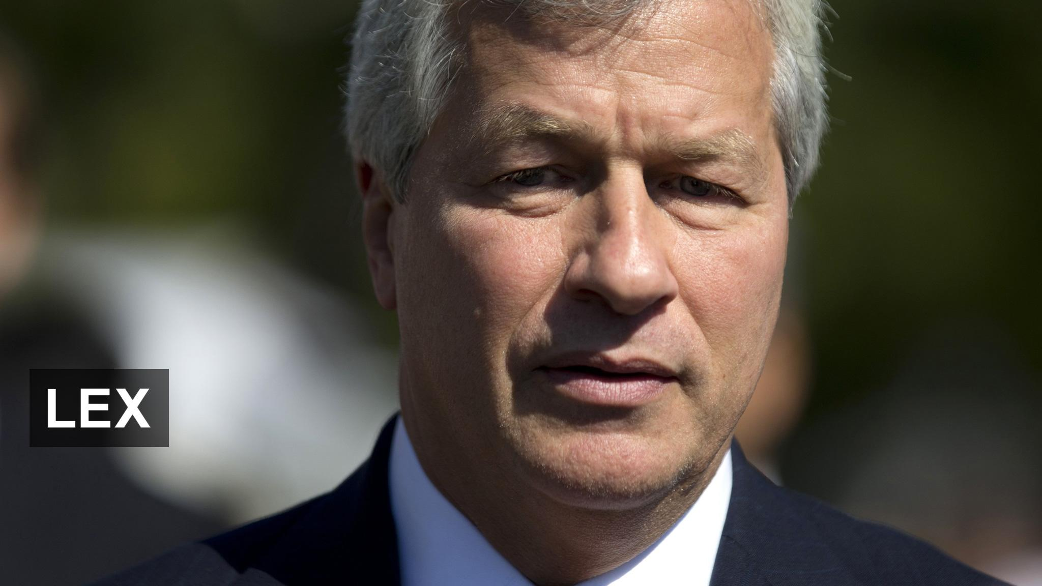 What's behind Dimon's proxy jibe?