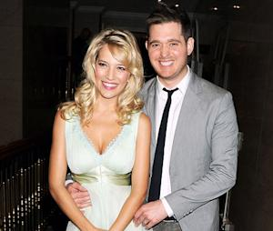 Michael Buble's Pregnant Wife Luisana Lopilato Craves Blood Sausages, Not Pickles or Ice Cream
