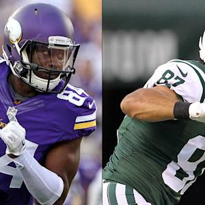 Fantasy WR showdown: Patterson or Decker?
