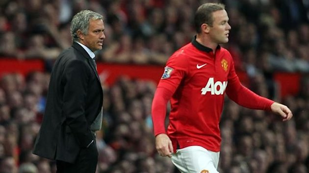 Mourinho and Rooney