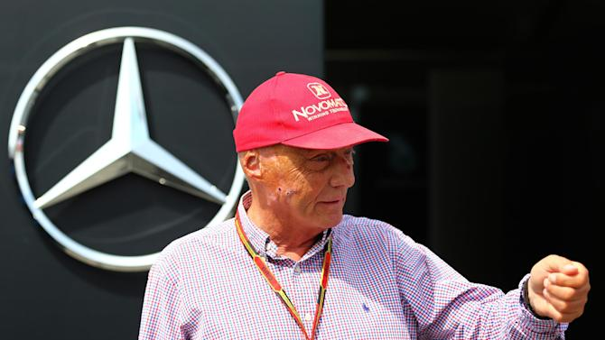Niki Lauda in Montreal, Canada on June 8, 2014, before the Canadian Formula One Grand Prix