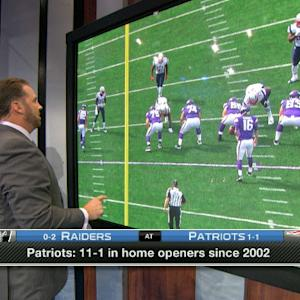 'Playbook': Oakland Raiders vs. New England Patriots