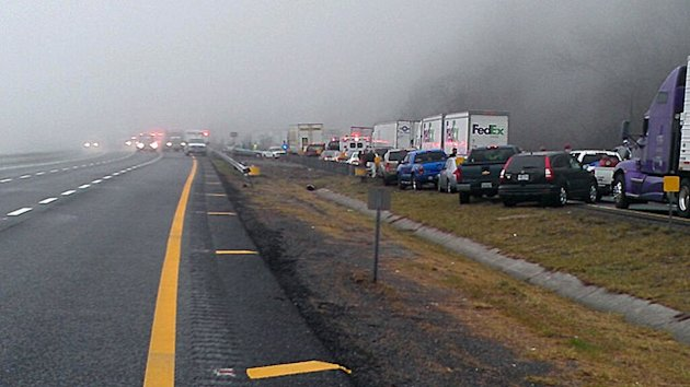 Virginia 75-Car Pile-Up Kills at Least 3 (ABC News)