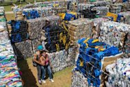 A couple walks through a labyrinth made with blocks of recycled materials at Parque da Juventude (Youth Park) in Sao Paulo, Brazil. For the past eight years, Eduardo Jorge has been spearheading efforts to turn Sao Paulo into a greener city that reconciles stunning economic growth with a more sustainable way of life