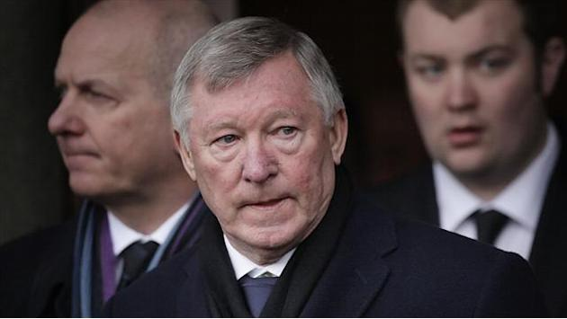 Football - Ferguson tribute at Fallon funeral