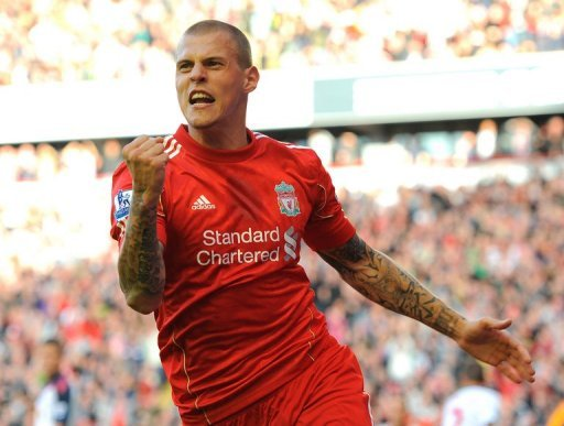 Liverpool defender Martin Skrtel, pictured in 2011
