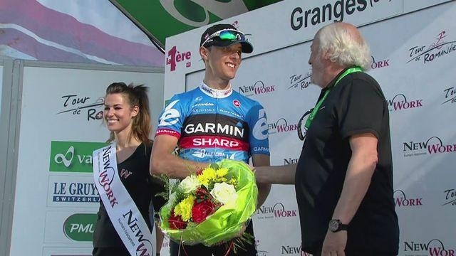 Navardauskas sprints to Tour de Romandie stage two win