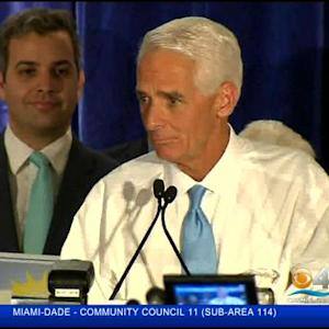 Former Gov. Crist Wins Primary, Will Take On Gov. Scott In November